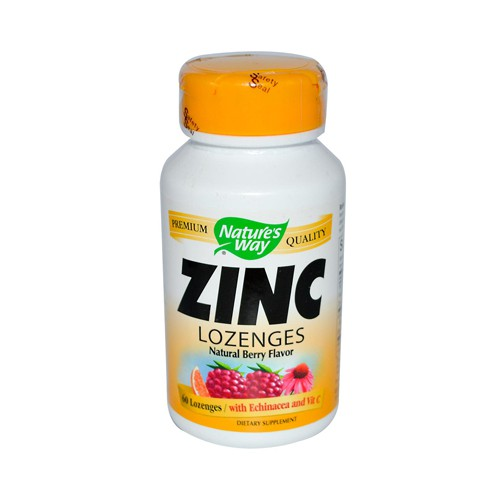 Nature's Way Zinc Lozenges Natural Berry