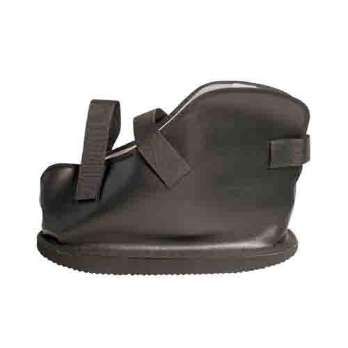 vinyl closed toe cast boot 97d
