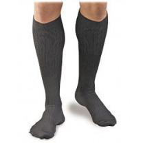 Activa Men's Microfiber Pinstripe Dress Socks 20-30 mmHg
