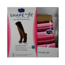 Package Wheat Micro-Nylon Fashion Trouser Socks 10-15 mmHg