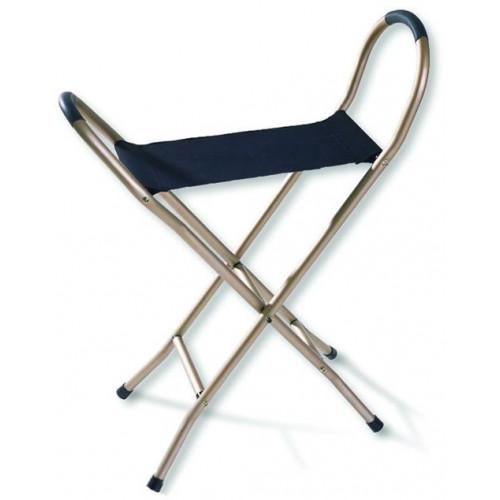 Alex Orthopedic Portable Folding Seat Cane