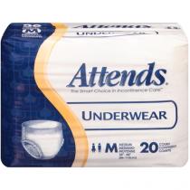 Attends Underwear Regular Absorbency Medium