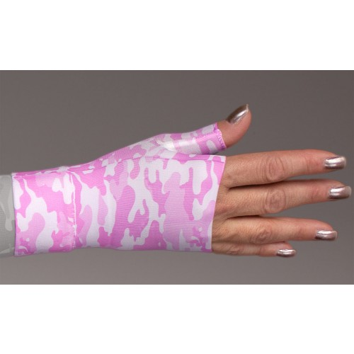 LympheDivas Camouflage Pink Compression Gauntlet 30-40 mmHg
