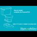 Toilevator Toilet Riser Product Diagram