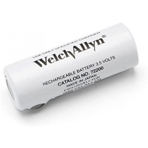 Welch Allyn 72200 3.5 Volt Rechargeable Battery