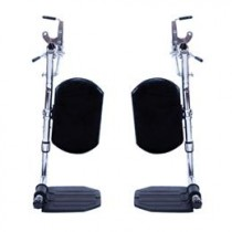 Invacare Wheelchair SwingAway Elevating Legrest with COMPOSITE Footplates