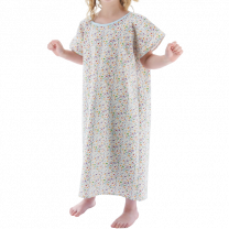 Printed Youth Gown
