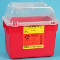 8 Quart Red BD Sharps Container 305344