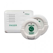 Smart Caregiver Pager with Two Call Buttons & Wireless Paging System