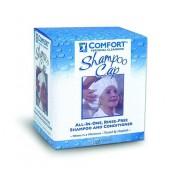 Comfort Bath Rinse Free Shampoo and Conditioner Cap