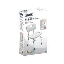 Lumex Platinum Collection Bath Seats with Backrest