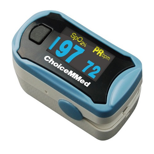 OxyWatch Pulse Oximeter C29 Measures Oxygen Saturation and Pulse