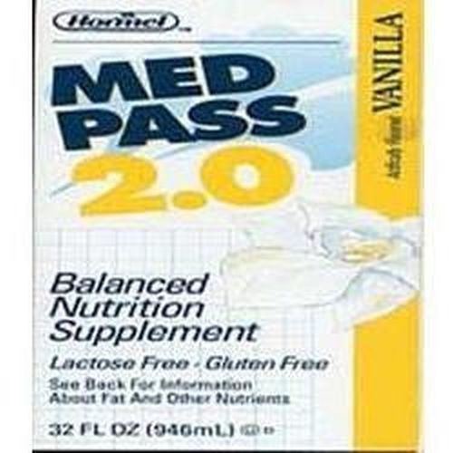 Med Pass 2.0 High Calorie High Protein Oral Supplement Vanilla - 32 oz