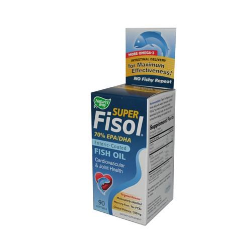 Natures Way Super Fisol Fish Oil