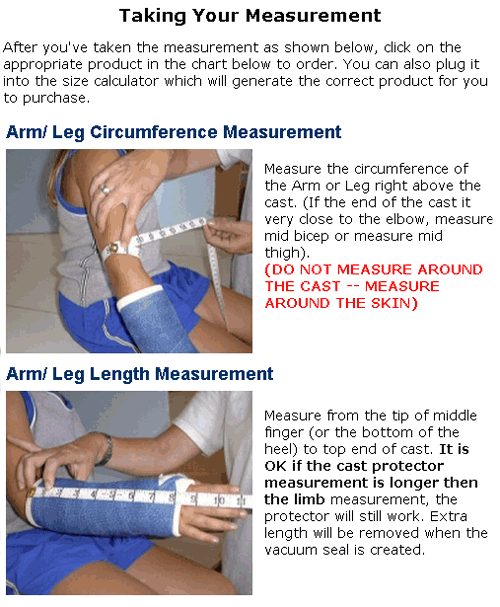 More Views Dry Pro Leg Cast Protector