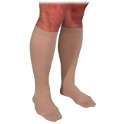 Sigvaris 860 Select Comfort Men's Knee-High Grip Dot Band - 863C CLOSED TOE 30-40 mmHg