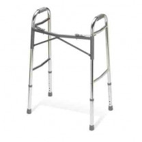 Adult Heavy-Duty Two-Button Folding Walkers