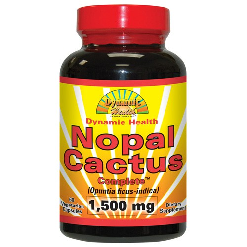 Dynamic Health Nopal Cactus Complete 1500 mg Dietary Supplement