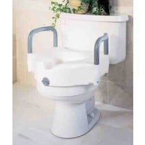 Locking Raised Toilet Seats with Arms