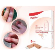 PolyMem Shapes 4402   Finger-Toe Dressing - #2, Ring Size 8-12 by Ferris