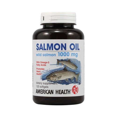 American Health Salmon Oil Dietary Supplement 1000 mg