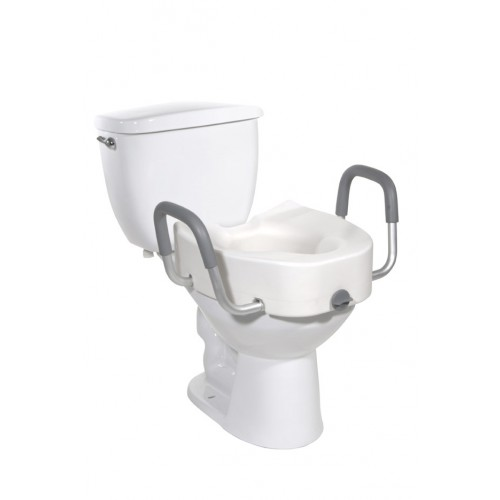 Raised Elevated Toilet Seat by Drive