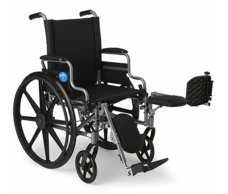 medline strong and sturdy wheelchair 7aa