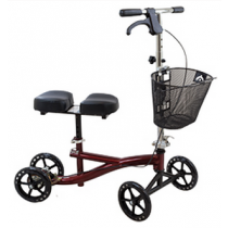 Roscoe Mobility Knee Scooter Burgundy