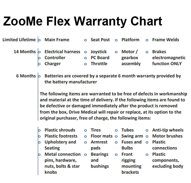 zoome flex folding travel scooter 9d0