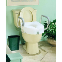 EZ Lock Raised Toilet Seat
