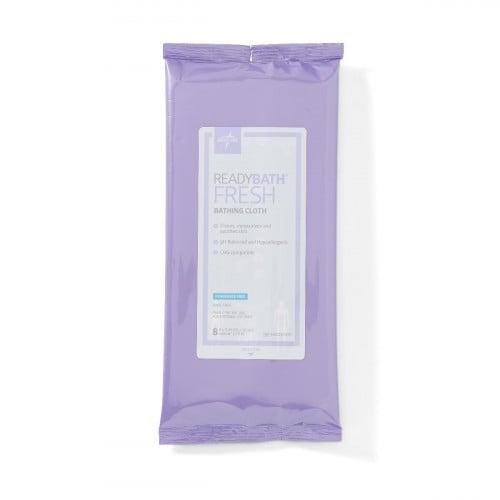 Medline ReadyBath Fresh Standard-Weight Bathing Cloths