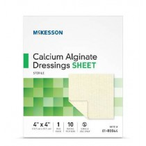 Calcium Alginate Dressings, Sheet