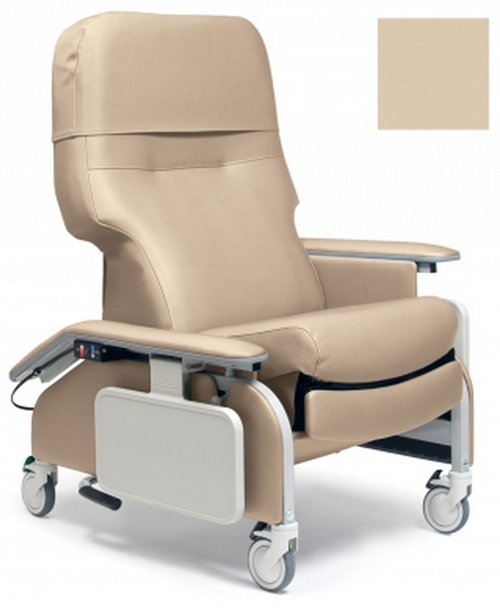 lumex deluxe clinical care recliner by graham field  d1c
