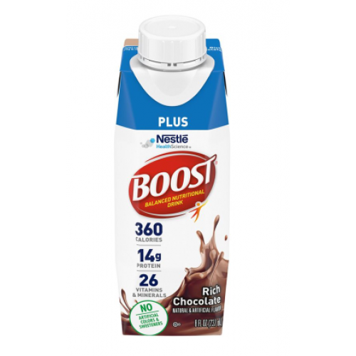 BOOST PLUS Complete Nutritional Drink - Vanilla, Chocolate, Strawberry
