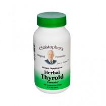 Christophers Herbal Thyroid 475 mg Dietary Supplement