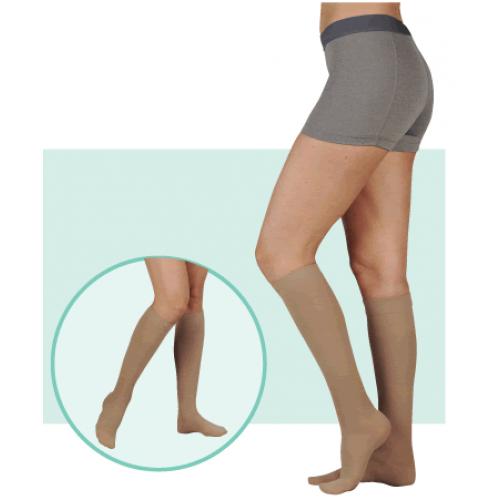Juzo 3512NNAD Dynamic Neuropathic Unisex Knee High Compression Socks 30-40 mmHg