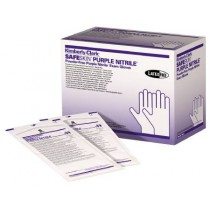 Nitrile Exam Gloves Sterile Powder Free in Purple by Kimberly Clark