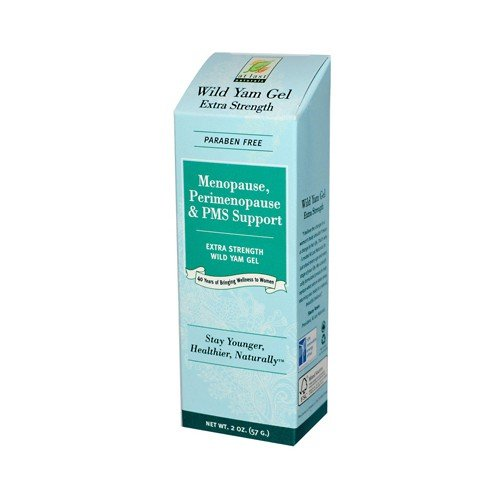 At Last Naturals Wild Yam Extra Strength Gel for Menopause Relief