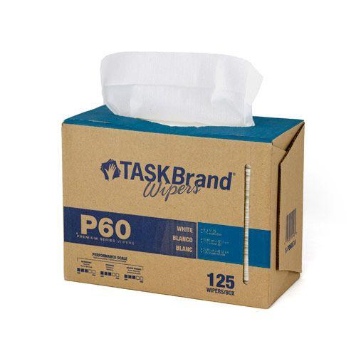 Taskbrand P60 Md Hydrospun, Interfold, Dispenser Wipers