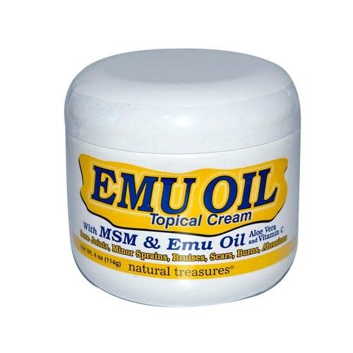 BNG Natural Treasures Emu Oil Topical Cream