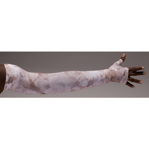 LympheDivas Romantic Rose Compression Arm Sleeve 20-30 mmHg