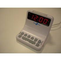 DEAFWORKS Futuristic 2 Alarm Clock