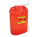 8.2 Quart Red BD Sharps Container with Regular Funnel Entry 305490