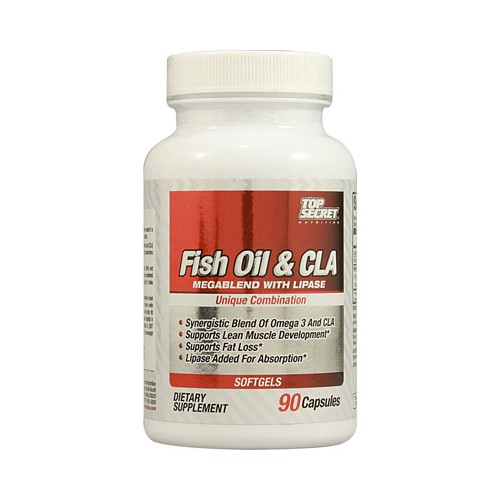 Top Secret Nutrition Fish Oil and CLA Megablend
