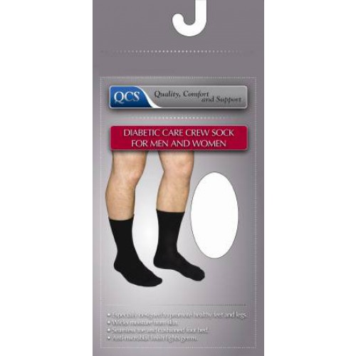Diabetic Care Crew Socks