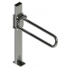 PT Rail Floor Mast Stainless Steel