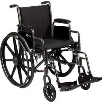 K-3 Lite Wheelchair with Swing Away Foot Rests