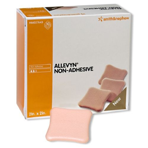 Allevyn Non-Adhesive 66927638 | 8 x 8 Inch by Smith & Nephew