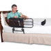 EZ Adjustable Bed Rail with Organizer Pouch