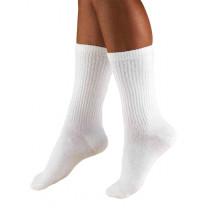 TRUFORM Men's Crew Length Athletic Socks 15-20 mmHg